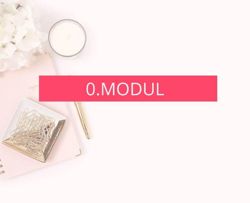 0. modul